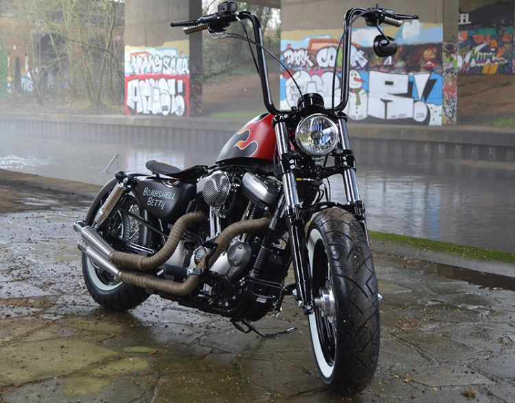 Bombshell Betty Motorcycles