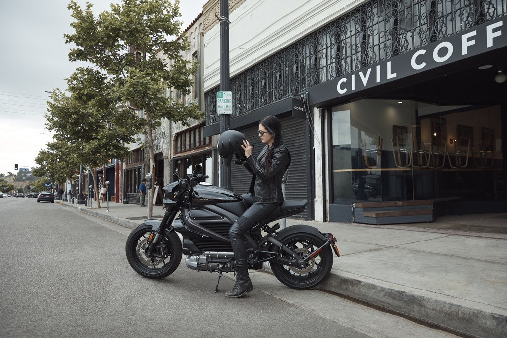 The Harley-Davidson Livewire™ comes equipped with ride